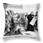 Grover Cleveland Throw Pillow