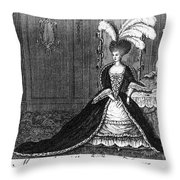 Marie Antoinette (1755-1793) Throw Pillow