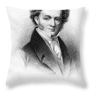 Martin Van Buren (1782-1862) Throw Pillow