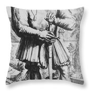 Paracelsus, Swiss Polymath Throw Pillow by Science Source
