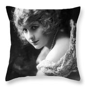 Pearl White (1889-1938) Throw Pillow