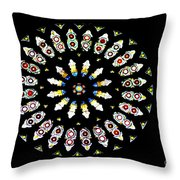 Scenes From The City Of York  Throw Pillow