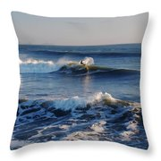Surfers Make The Ocean Better Series Throw Pillow