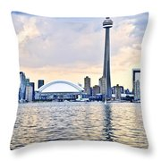 Toronto Skyline Throw Pillow