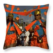 West Indian Day Parade Brooklyn Ny Throw Pillow