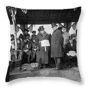 William Howard Taft Throw Pillow