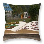 1000 Years To Glory Of Russia Throw Pillow