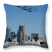 100th Anniversary Of Naval Aviation Throw Pillow