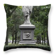 Alexander Hamilton Throw Pillow