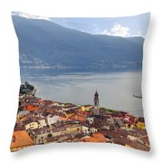 Ascona - Ticino Throw Pillow by Joana Kruse
