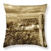 Christchurch Priory Throw Pillow