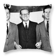 John F. Kennedy (1917-1963) Throw Pillow