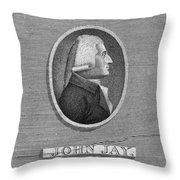 John Jay (1745-1829) Throw Pillow