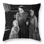 Silent Still: Children Throw Pillow