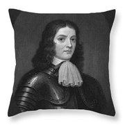 William Penn (1644-1718) Throw Pillow