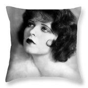 Clara Bow (1905-1965) Throw Pillow
