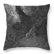 Milton: Paradise Lost Throw Pillow