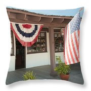 Old Town San Diego Throw Pillow