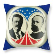 Presidential Campaign: 1904 Throw Pillow