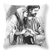 Shakespeare: Macbeth Throw Pillow