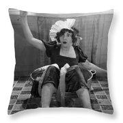 Silent Film Still Throw Pillow