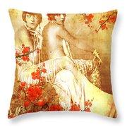 Winsome Women Throw Pillow