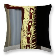 Wise Virgins  Throw Pillow