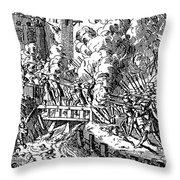 John Churchill (1650-1722) Throw Pillow