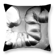 Normal Double Contrast Barium Enema Throw Pillow