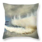Wingwalkers Throw Pillow