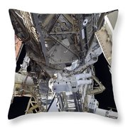 Astronaut Participates Throw Pillow