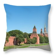 Moscow Kremlin Throw Pillow