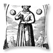 Paracelsus, Swiss Polymath Throw Pillow