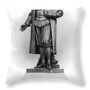 Roger Williams (1603-1683) Throw Pillow