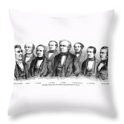 Zachary Taylor (1784-1850) Throw Pillow