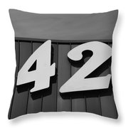 1421 Throw Pillow