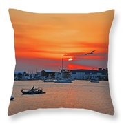 15- Old Port Cove Throw Pillow