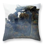 A Recce Or Scout Team Of The Belgian Throw Pillow