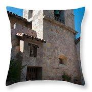 Gardens In Carmel Monastery Throw Pillow
