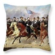 Ulysses S. Grant Throw Pillow