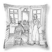 Johann Goethe (1749-1832) Throw Pillow