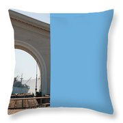 Legion Of Honor Museum San Francisco Throw Pillow