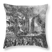New York: Draft Riots, 1863 Throw Pillow