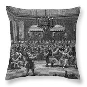 Peter I (1672-1725) Throw Pillow