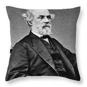 Robert E. Lee (1807-1870) Throw Pillow
