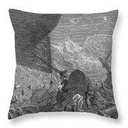 Coleridge: Ancient Mariner Throw Pillow