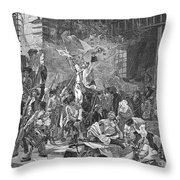 French Revolution, 1789 Throw Pillow