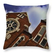 1901 Uab Spencer Honors House Throw Pillow