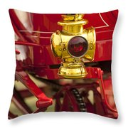 1904 Franklin Open Four Seater Taillight Throw Pillow