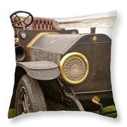 1907 Fiat Tipo 50-60 Hol-tan Throw Pillow